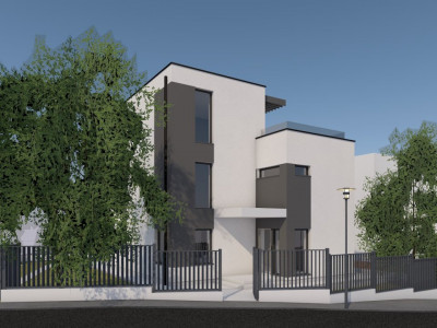 Casa individuala moderna in Europa