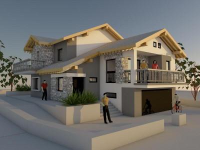 Casa Individuala 500 mp teren in Faget