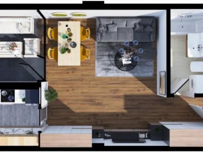 Apartament bloc nou Zorilor. Proiect in dezvoltare