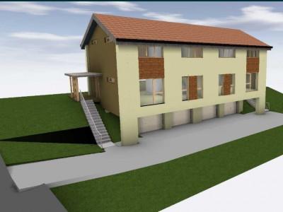 Teren cu proiect si autorizatie Duplex Zona Oasului