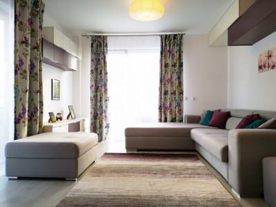 Chirie apartament 2 camere Manastur bloc nou cu parcare privata