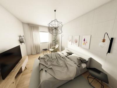 Aparatament 2 camere bloc nou in Centru